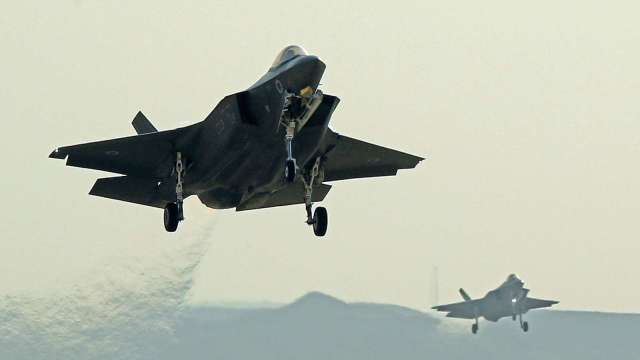 總額逾233億美元!美國防部批准對UAE軍售 含F35與無人攻擊機 (圖片:AFP)