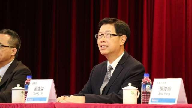 鴻海董事長劉揚偉。(圖:鴻海提供)