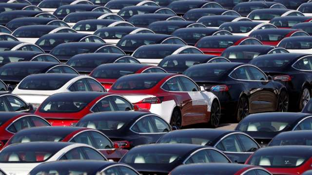 新能源概念掀起汽車業三大變局(圖片:AFP)