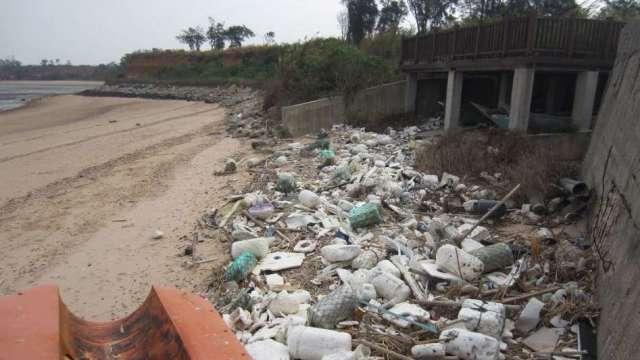 風阻與海流改變海洋垃圾分布 中研院示警:台灣等亞洲國面臨危害。(圖:中研院提供)