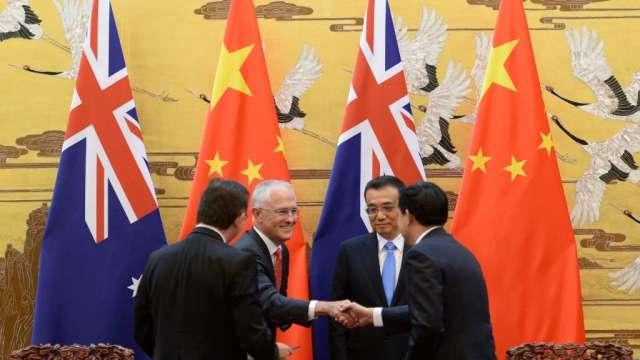 澳洲官員:希望盡早解決與中國貿易的技術性問題(圖:AFP)