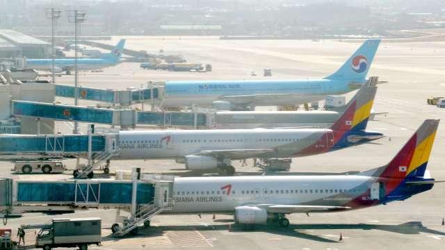 大韓航空宣布併購韓亞航空 將躍升全球第十大 (圖片:AFP)