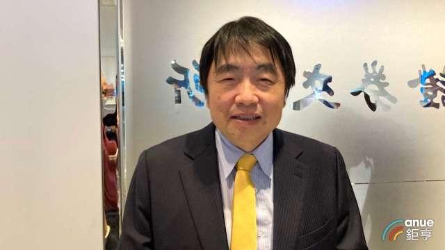康控-KY董事長呂朝勝。(鉅亨網記者彭昱文攝)