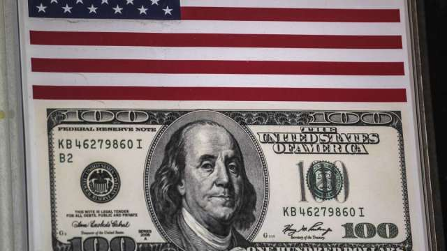 花旗估美元明年暴跌20% (圖:AFP)