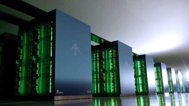 日本超級電腦「富岳」再奪第一、連續兩期達成「四冠王」壯舉 (圖片:AFP)