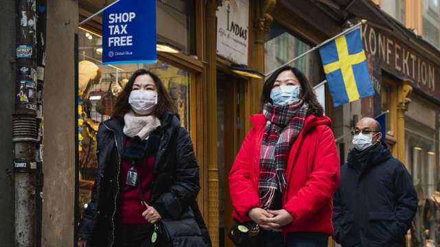 瑞典抗疫政策急速收緊 禁止8人以上公眾聚會(圖:AFP)