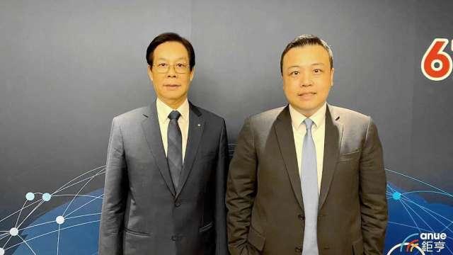 圖左為上洋董事長吳明富,右為總經理吳國華。(鉅亨網記者沈筱禎攝)