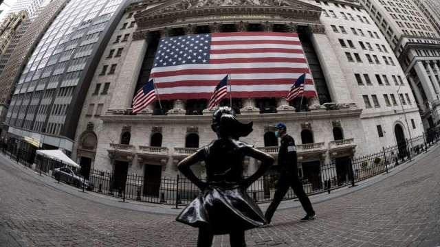 前一天創歷史新高後 美股週二盤前走弱(圖:AFP)