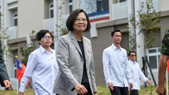 台灣被 RCEP 排除在外,總統蔡英文提出三點說明穩定民心。(圖:AFP)