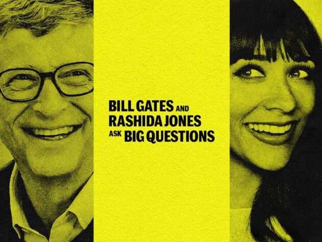蓋茲的播客節目。取自 gatesnotes.com