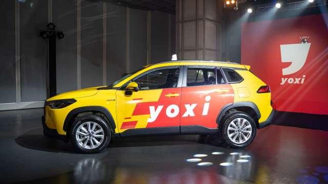 和泰車推出全新計程車隊yoxi即日起於雙北開始營運。(圖:和泰車提供)