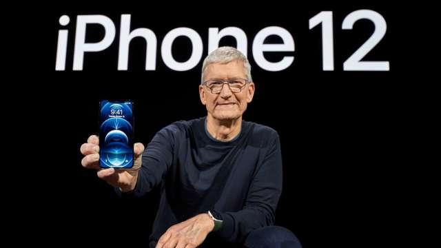 投行提證據!iPhone 12 正啟動蘋果超級週期 (圖片:AFP)