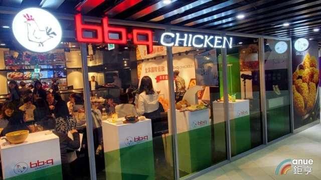bb.q CHICKEN台灣首家旗艦店。(鉅亨網資料照)