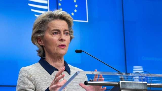 歐盟委員會主席:解封應採漸進方式 避免三波疫情爆發 (圖:AFP)