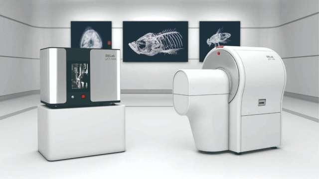 台達電自行研發製造的DELab μCT-100,已獲亞洲重要研究機構青睞。(圖:台達電提供)