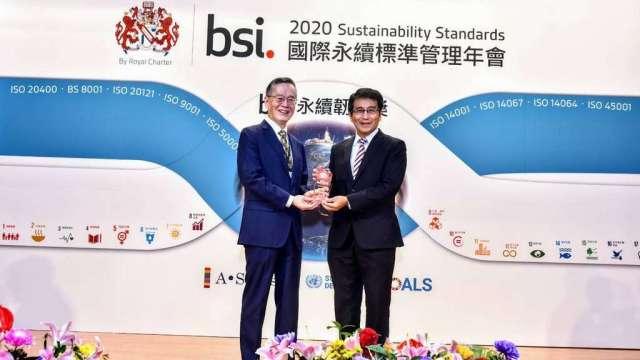 彰銀推動永續發展成果優異 榮獲台灣企業永續雙料獎項。(圖:彰銀提供)