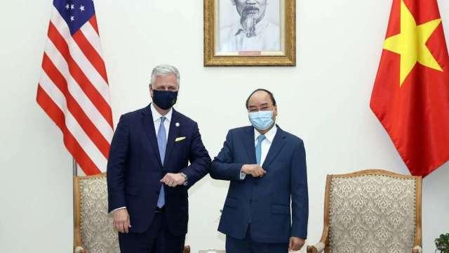 川普政府:已告知越南要遏止中國「洗產地」及加大對美軍購(圖:AFP)