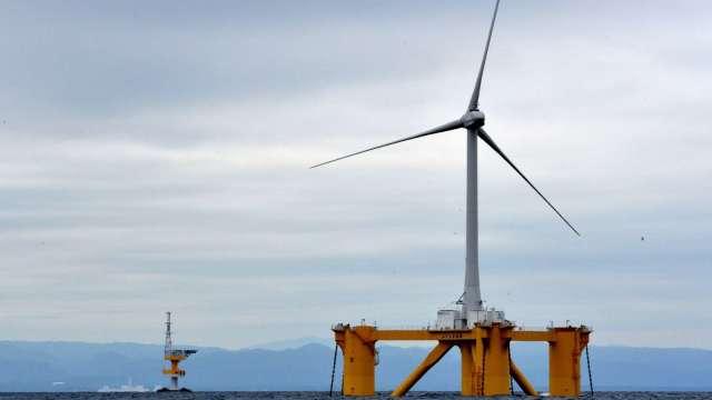 第二批綠電交易成果,18家企業年交易量逾7億度。(圖:AFP)