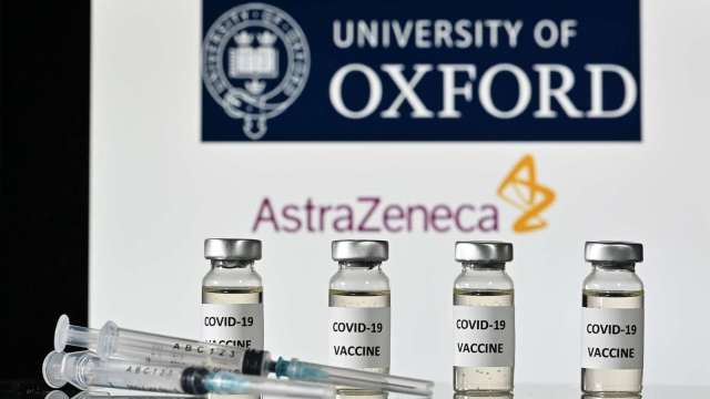 英國12/2有條件解封 揭密阿斯利康疫苗最大優勢。(圖片:AFP)