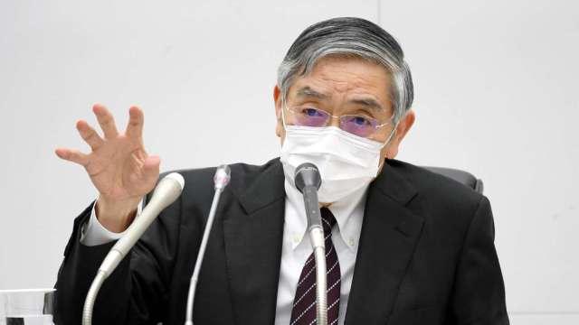 黑田東彥:貨幣寬鬆政策 尚無具體檢討必要 (圖片:AFP)