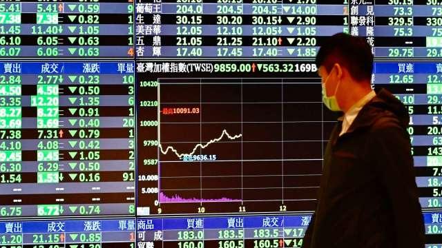 〈台股盤後〉高檔獲利了結賣壓出籠 望「萬四」卻步回測5日線。(圖:AFP)