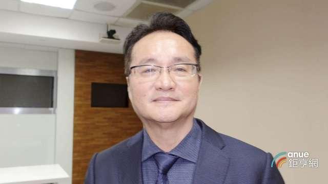 龍邦副總經理林尚良。(鉅亨網記者張欽發攝)