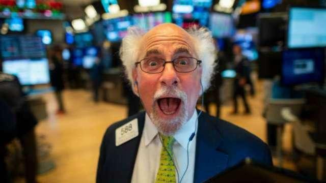 最具投機性的市場?道瓊有史以來首度站上3萬點大關。(圖片:AFP)
