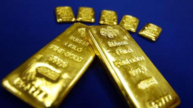 〈貴金屬盤後〉美股大漲 黃金跌至7月以來最低 但未摜破關鍵1800美元(圖片:AFP)
