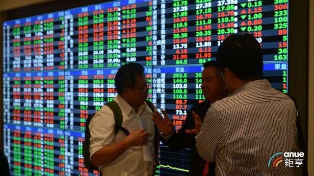 集中市場指數今天未突破昨日高點,預估大盤維持高輪動高檔震盪。(鉅亨網記者張欽發攝)