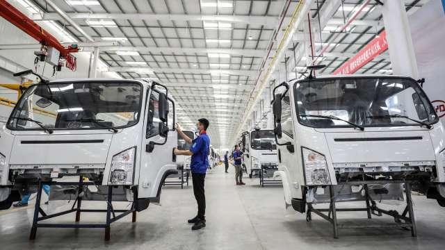 中國內燃機協會訂定產業十四五計畫 高效節能二極體將成明日之星。(圖:AFP)
