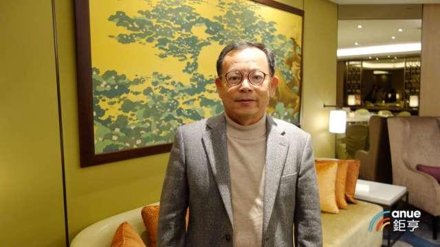 佳穎精密董事長林坡圳。(鉅亨網記者張欽發攝)