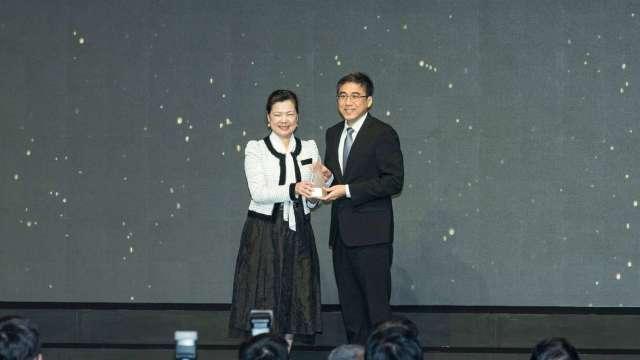 上銀科技「i4.0BS智慧型滾珠螺桿」榮獲第29屆台灣精品銀質獎。(圖:上銀提供)