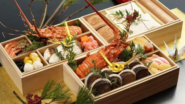 日勝生加賀屋2020御節料理(售價7800元)。(圖:日勝生加賀屋提供)