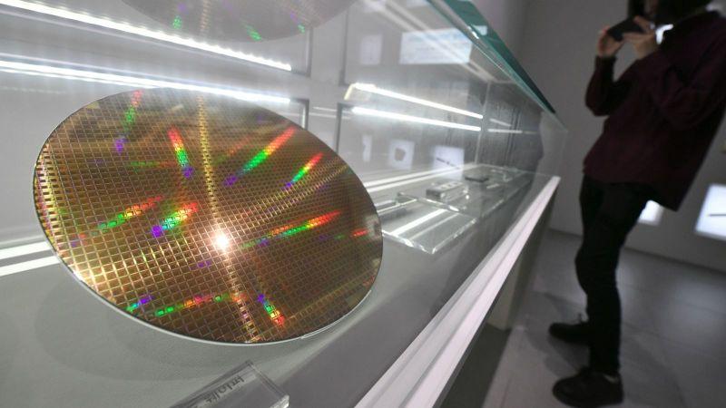 中芯國際證實 8吋晶圓代工將漲價。(圖:AFP)
