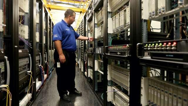 詮欣伺服器及存儲設備相關應用,打進美系網路服務商。(示意圖:AFP)