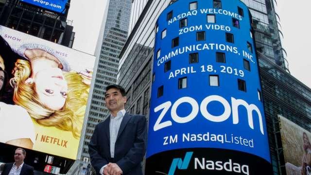 〈財報前瞻〉Zoom Q3財報看俏 市場逢低買進 漲逾6%(圖片:AFP)