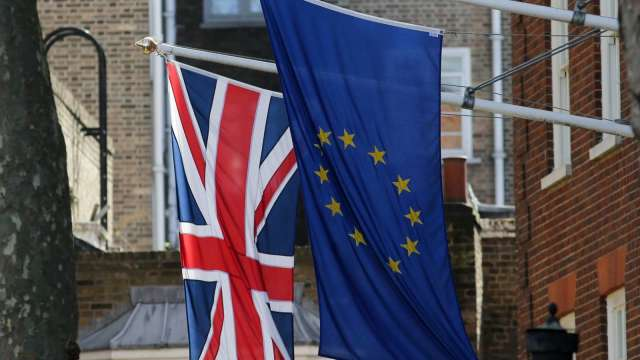 脫歐貿易協議邁向關鍵一週 英國看好取得突破(圖:AFP)
