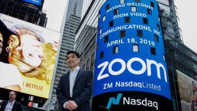 〈財報〉Zoom Q3依舊亮眼 但Q4營收成長恐放緩 盤後挫逾5%(圖片:AFP)