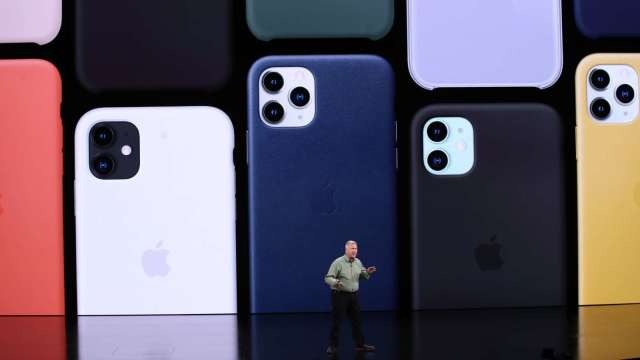 蘋果Q3手機出貨輸小米第三名不保 華為年減2成 (圖:AFP)