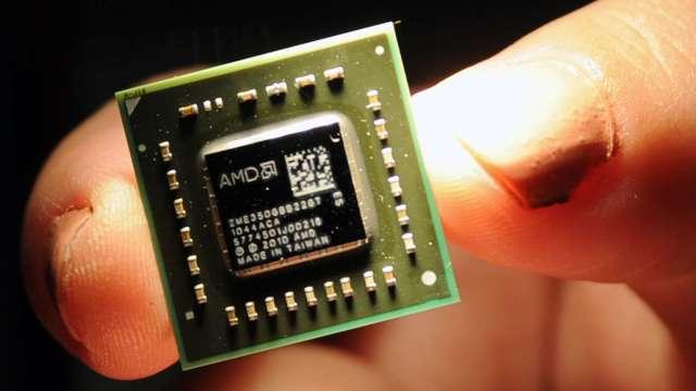超微估PC市場2021年持續成長 IC設計明年營運續旺。(圖:AFP)