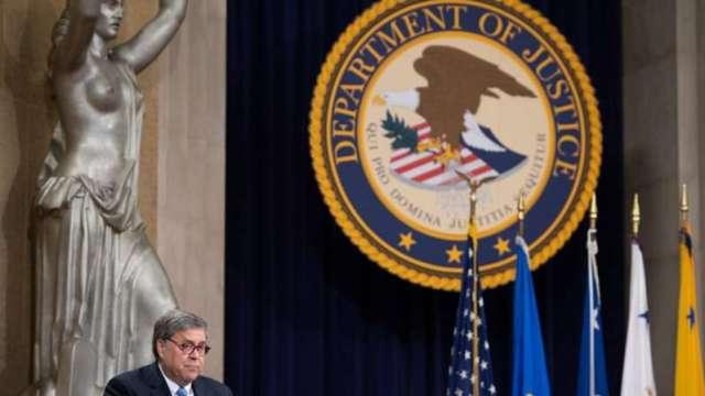 澆川普法律戰冷水 美司法部長:未發現任何選票詐欺證據(圖:AFP)