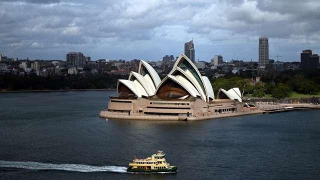 澳洲第三季GDP轉正成長 優於市場預測 (圖片:AFP)