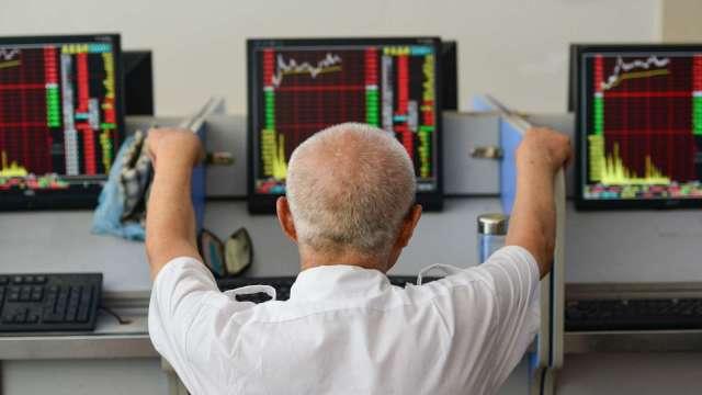 台股今年迄今已大漲約 2000 點(圖:AFP)