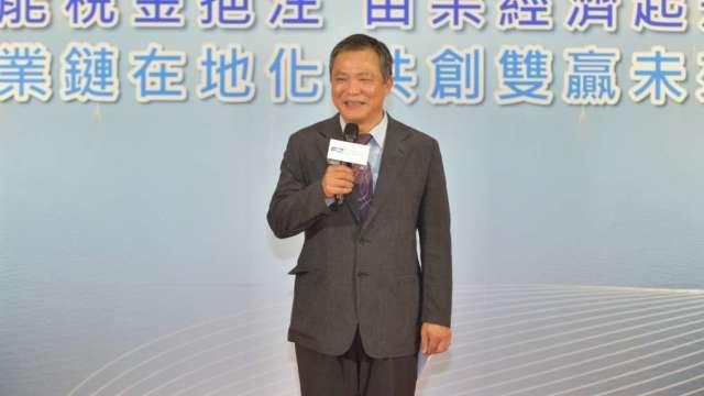 上緯投控董事長蔡朝陽。(圖:上緯投控提供)