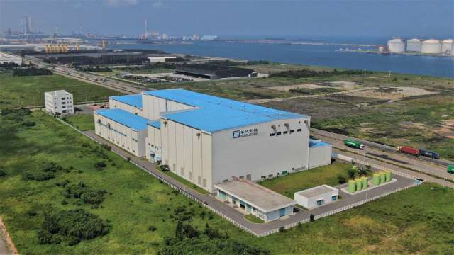 MHI Vestas 租賃華城台中港廠區,再擴本土化規模。(圖:MHI Vestas提供)
