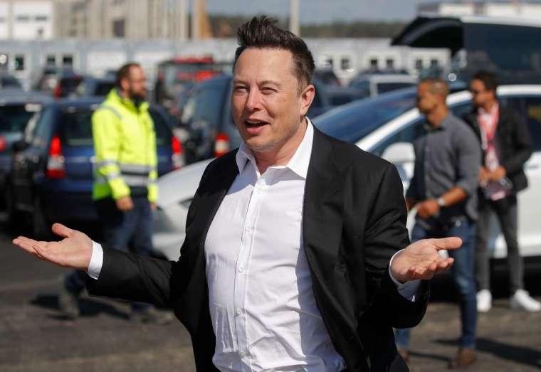 特斯拉 CEO 馬斯克親自出面做空。(圖片:AFP)