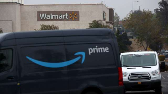 對抗Amazon Prime 沃爾瑪取消會員35美元網購低消規定 (圖片:AFP)