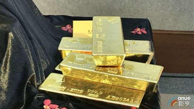 瑞銀預估,黃金價格短線有壓考驗關卡落在1730美元。(鉅亨網資料照)
