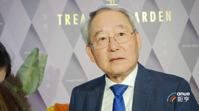 大陸建設董事長張良吉。(鉅亨網記者張欽發攝)