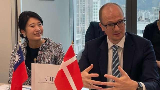 左起為CIP台灣區董事總經理許乃文、CIP台灣第三階段區塊開發計畫執行長侯奕愷。(圖:CIP提供)
